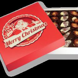 Belgisk chokladask